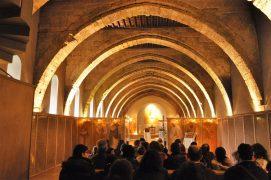Oración en el Monasterio de Sijena