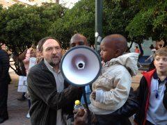 Manifestación por la libertad de enseñanza