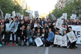 Manifestación por la Concertada 4 de abril de 2017